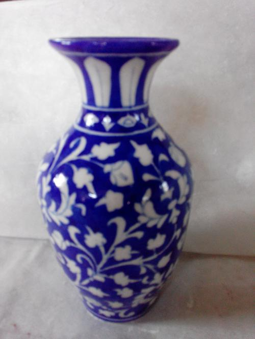 Blue Pottery Bowl Plate Vase Tiles Blue Pottery In